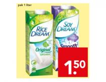 soy dream smooth soy  rice of rice dream original organic