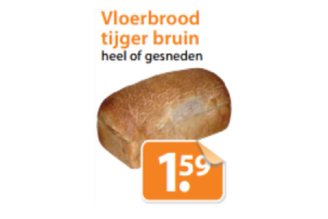 vloerbrood tijger of bruin