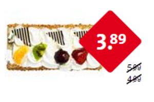 uw eigen bakker slagroom  of mokkaschnitte