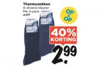 thermosokken