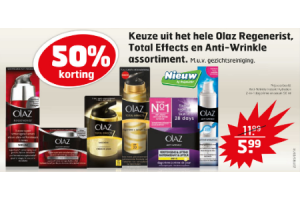 olaz regenerist total effects en anti wrinkle assortiment