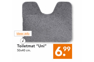 toiletmat uni