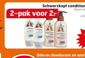 schwarzkopf conditioner en creme