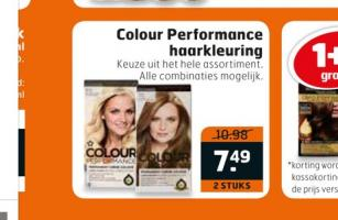 colour performance haarkleuring