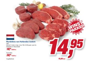 rundvlees van hollandse bodem