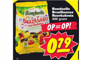bonduelle braziliaanse roerbakmix