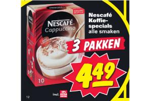 nescafe koffiespecials