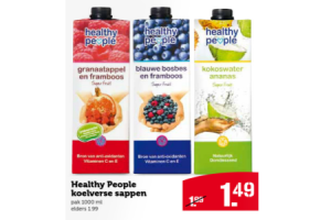 healthy people koelverse sappen