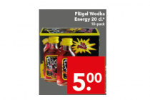 flugel wodka energy 20cl 10 pack
