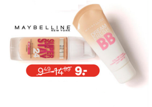 alle maybelline teint make up