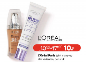 alle loreal paris teint make up