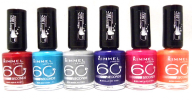 rimmel 60 seconds nagellak