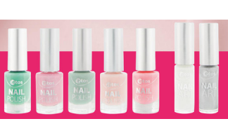 etos nail polish en nail art