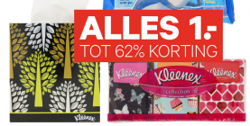 kleenex collection en ultrasoft zakdoekjes en tissues