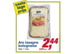 aro lasagne bolognaise