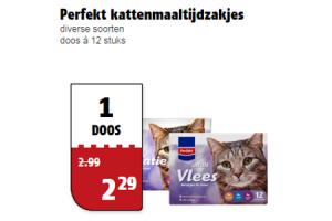 perfekt kattenmaaltijdzakjes