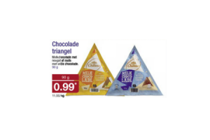 chocolade triangel