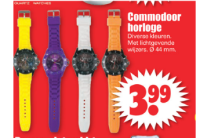 commodoor horloge