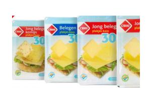 30plus plakjes kaas voorverpakt 175 en 400 gram
