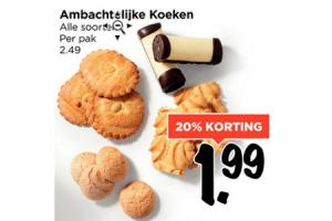 ambachtelijke koeken