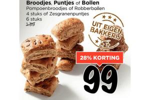 broodjes puntjes of bollen
