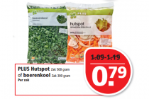 plus hutsport of boerenkool
