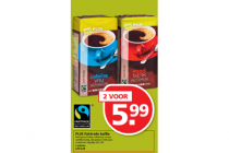 plus fairtrade koffie
