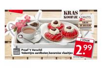 valentijns aardbeien bavaroise vlaaitjes