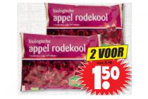 biologische appel rode kool