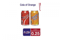 river cola of orange