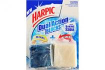 harpic dual action blocks