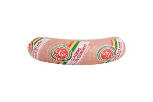kips slagers snij leverworst 350 gram