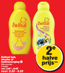zwitsal bad douche of huidverzorging