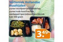 versuniek hollandse maaltijden