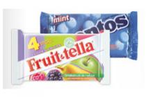 mentos klene fruitella of meller