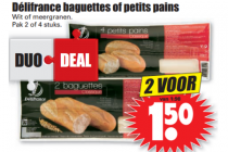 baguettes of petit pains