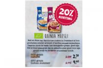 quinoa muesli