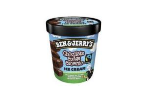 ben  jerrys chocolate fudge brownie