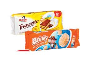 brinky mini biscuit fourre choco of vanille of trancetto aardbei of cacao