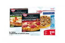 dr oetker tradizionale of culinaria pizza