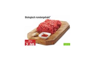 biologisch rundergehakt