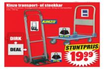 kinzo transport  of steekkar