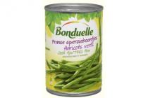 bonduelle franse sperzieboontjes zeer fijn gerangschikt 850 ml