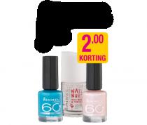 rimmel nagellak nu met euro2  korting