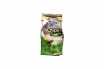haust toast n chips knoflook
