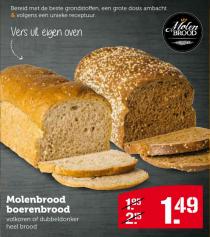 molenbrood boerenbrood
