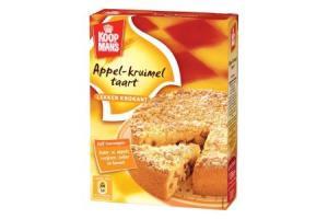 koopmans mix voor appelkruimeltaart