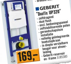 Geberit Duofix Up320 Aanbieding.Geberit Duofix Up320 Voor 169 Beste Nl