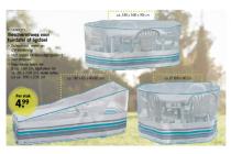 beschermhoes voor tuintafel of ligstoel