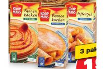 koopmans mix voor pannenkoeken of poffertjes